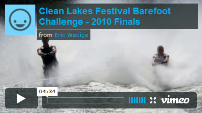 Clean Lakes Figure 8 Barefoot Video